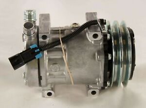 New U4752 Sanden Compressor W Clutch R134a