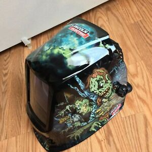 Lincoln K3034 3 Viking 3350 4c Lens Zombie Welding Mask New
