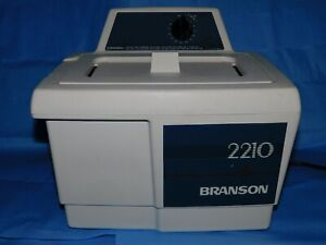 Branson 2210r mt Bransonic Ultrasonic Cleaner 2210 3 4 Gal