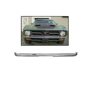 Chrome Front Bumper 1971 1972 Mustang