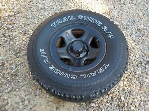 87 01 Jeep Cherokee Xj Wrangler 15x7 Wheel Rim With New 31 Trail Guide Tire