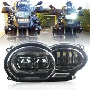 Led Front Headlight With White Drl For Bmw R1200gs Adv R1200gs Lc 2004 2012
