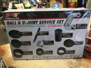 Ball U joint Service Set Performance Tool 4 X 4 Adapters New Car Truck