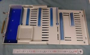 Storz Prs4160 Delicate Instruments Sterilization Case W Tray Mat Ophthalmic Md