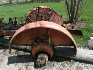 Unstyled Allis Chalmers Wc Tractor Good Set pair Original Ac Fenders