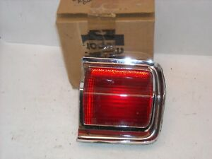 Mopar Nos 1965 Plymouth Fury Right Rear Outer Tail Lamp Light Assembly 7369873