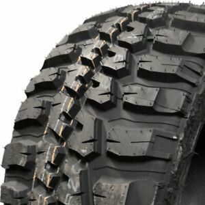 2 New 40x15 50r20 Federal Couragia Mt 130q D 8 Ply Mud Terrain Tires 462g0a