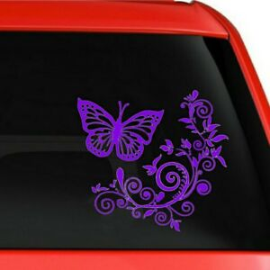 Creative Butterfly Vinyl Car Window Sticker Auto Rear Windshield Side Decal Prop