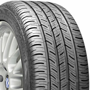 2 New 225 55 17 Continental Pro Contact 55r R17 Tires