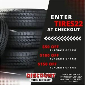 4 New 225 50 17 Michelin Defender T h 50r R17 Tires 32502