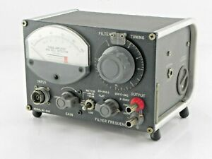 General Radio 1232 a Tuned Amplifier And Null Detector
