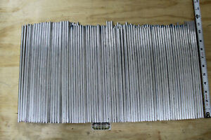200 Pierces 1 4 6061 Aluminum Round Extruded Rod 10 To 11 Long Drops Dr1 6