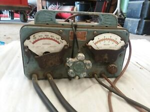 Vintage Portable Sun Electric Battery And Alternator Tester