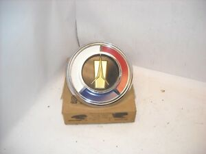 Mopar Nos 1960 Plymouth Rear Quarter Panel Medallion Emblem Ornament W Base