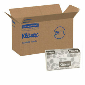 Kleenex 13253 Scottfold Paper Towels 12 4 In X 7 8 In 120 pack 25 Packs carton