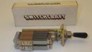 Switchcraft 160024 Telever Toggle Switch 2 Position Return To Center Nib