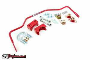 Umi 78 88 Gm G Body 3 4 Solid Rear Chassis Sway Bar Red 3