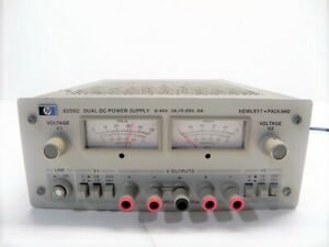 Agilent Hp Keysight 6205c Dual Dc Power Supply