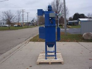 Dust Collector 2 Hp 2 Cartridge 1250 Cfm Reverse Pulse Variable Frequency
