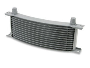 Earls 71006erl Earls Temp A Cure Oil Cooler Grey 10 Rows Narrow Curved