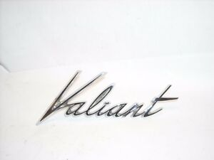 Mopar Nos 1961 1962 Plymouth Valiant Fender Emblem Nameplate Ornament 2196630