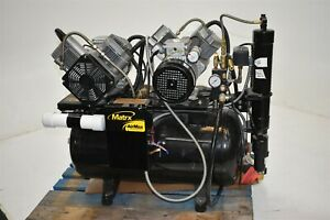 Great Used Matrx Cl 4000 Dental Air Compressor System For Operatory Pressure