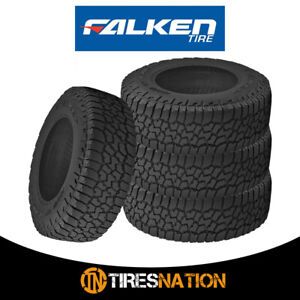 4 New Falken Wildpeak A T3w Lt285 75r18 129 126r All Terrain Any Weather Tires