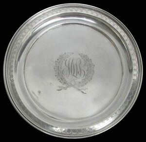 Ca 1890 S Bailey Banks Biddle Sterling Silver Bread Butter Dish