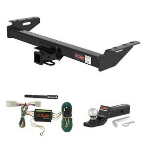 Curt Trailer Hitch Wiring 2 Ball Mount W 2 Drop For 97 01 Jeep Cherokee
