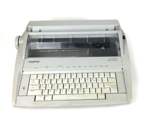 Brother Model Gx 6750 Daisy Wheel Electronic Typewriter Tested Working