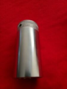 Snap on Vintage 1 2 Drive 12 point 1 1 8 Flank Drive Deep Socket S 3601 2 Nos