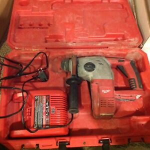 Used Milwaukee 0756 9g M28 28v Dc Li ion 1 Sds Rotary Hammer Drill Charger