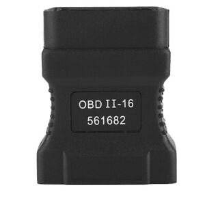 Obd2 Obdii Adapter Connector 16 Pin For Otc D730 Autoboss V30 Scanner 2600