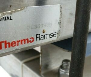 Used Thermo Ramsey Liquid Metal Detector With Rotary Valve Discharge Discharge