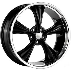 20x10 Black Boss 338 Rim 5x4 75 5x120 65 2 Offset 33822081