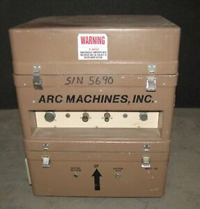 Arc Machines Model 107 4a Orbital Tube Welder W 107 cw 2760