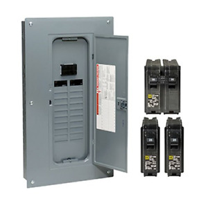 Square d 100 amp 20 space 40 circuit Indoor Main breaker Panel Load center