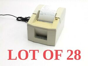 Lot Of 28 Star Micronics Tsp600 Pos Point Sale Direct Thermal Receipt Printer