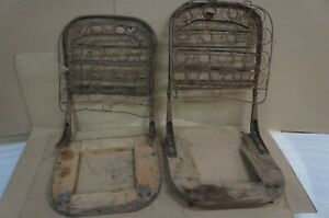 Ford Model A Front Seat Backs And Springs Oem Used rg1
