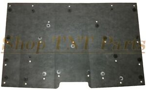 1981 1987 Chevy Truck Hood Insulation Pad W Clips C10 K10 Suburban 1 2 Low Pro