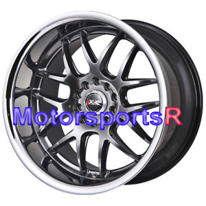 Xxr 526 20 Wheels Chromium Staggered 5x114 3 Flush Fit Nissan 350z 19 370z Nismo
