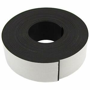 Magnet Tape One Side Adhesive Magnetic Tape 1 16 Thick X 1 Wide X 10 Feet