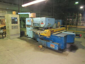 Warner Swasey W 2040 Wiedematic 480v 24 Station 20 Ton Cnc Turret Punch