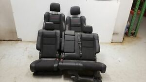 2019 Jeep Grand Cherokee Trailhawk Seats Front Rear Left Right Black Leather Oem