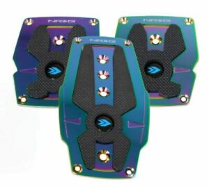 Nrg Innovations Pdl 200mc Accelerator Brake And Clutch Pedal Pad Set