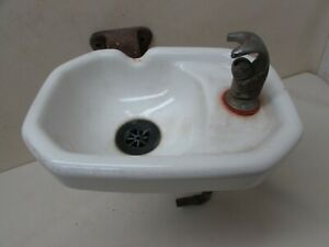 Vintage Kohler Usa Porcelain Drinking Fountain Sink Fixture Cast Iron Bracket