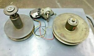 Speed Selector 510 Pulleys With Dayton Motor South Bend 14