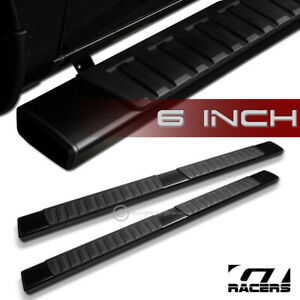 For 2009 2014 F150 Super Crew 6 Aluminum Blk Side Step Running Boards