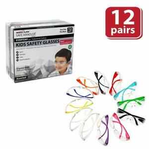 Safe Handler Kids Protective Safety Glasses Impact And Ballistic Resistant