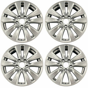 New Set Of 4 17 Alloy Wheels Rims For 2011 2012 Honda Accord Sedan